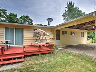 NEW! Frankfort Home with Patio Near Lake Michigan!