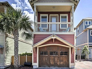 NEW! Canalside Mexico Beach Cottage w/Pool Access!