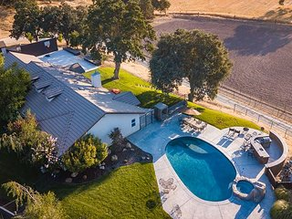 Camp 8 Ranch - Cowboy living meets wine country at its best.   New Property!!