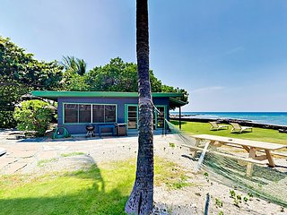 Delightful Oceanfront Cottage w/ Incredible Panoramic Views