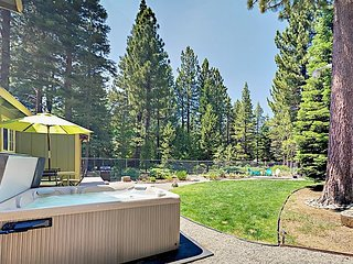 4BR w/ Backyard Oasis & Private Hot Tub – Surrounded by Forest Land