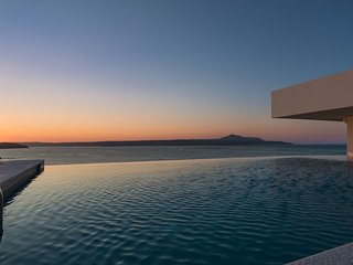 Breathtaking Sea View Villa Sapphire with private pool in Almyrida Chania Crete