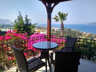 EXCEPTIONAL SEA VIEWS FROM EVERY SPACE IN OUR SPACIOUS DETACHED VILLA WITH POOL