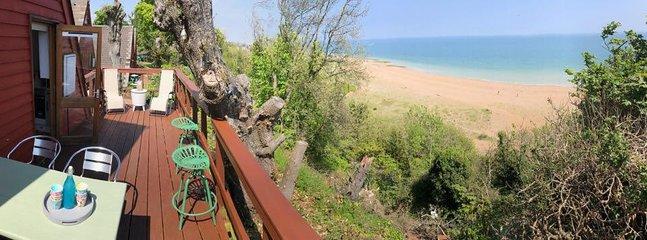 Vista desde la cubierta trasera