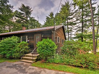 NEW! Spacious Home on Androscoggin Lake w/ Deck!