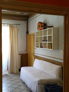 Seconda camera con letto  singolo che può essere spostato nella prima camera
