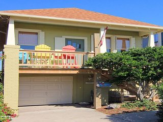 NEW LISTING! Oceanview cottage w/cozy front deck - near the beach!