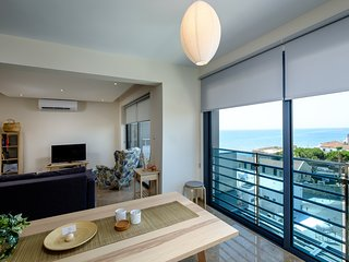2b Topfloor Seaview - Finikoudes Beach
