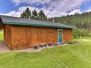 NEW! Cozy Rapid City Cabin by Hiking & ATV Trails!