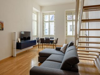 Spacious aparthotel close to the center of Prague with Lift, Internet, Washing m