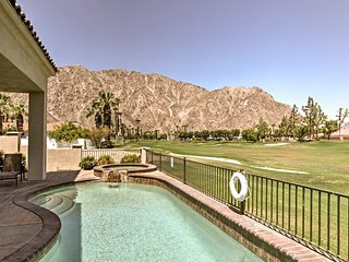 PGA West Home on Golf Course w/ Pool & Mtn. Views!