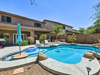 Luxury Maricopa Retreat w/ Private Pool & Patio!
