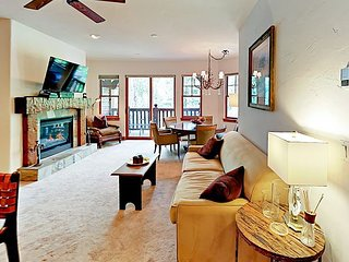 Balcony Overlooking Eagle River! 2BR Brookside w/ Heated Pool & Hot Tubs