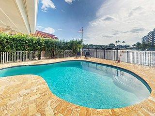 Oceanside Paradise 4BR w/ Private Heated Pool & Intracoastal Waterway Views