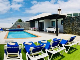 Villa Neptuno mit Private Pool in Playa Blanca