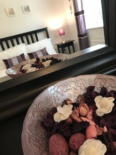 Second double room with comfortable king size bed