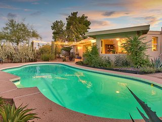 NEW LISTING! Dog-friendly southwest escape w/ a private pool & cactus garden