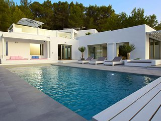 6 bedroom Villa in Cala Tarida, Balearic Islands, Spain : ref 5650918