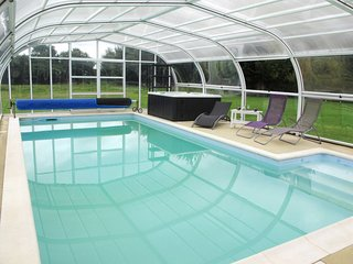 4 bedroom Villa in Lengronne, Normandy, France : ref 5650888
