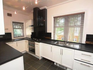 BOURNECOAST: Spacious first floor apartment - part of a Manor House - FM6167