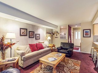 NEW LISTING! Cozy condo w/shared picnic & barbecue area, shared hot tub & pool