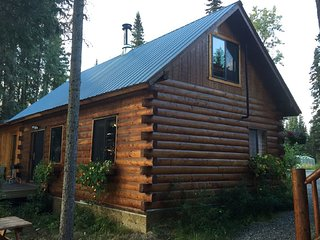 2 Bedroom Cabin w/ 42 Feet of Private Fishing Dock on the Famous Kenai River!!!