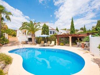 3 bedroom Villa in Moraira, Valencia, Spain : ref 5638893