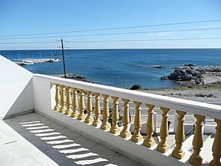 LINDOS area Rhodes - Three Bedroom Sea Front Villa with Private Pool.