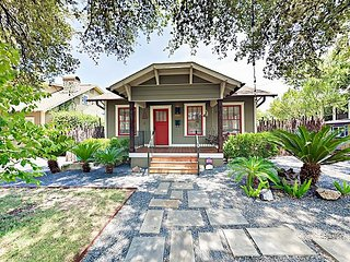 2 Blocks to SoCo! Bright, Cozy, Hip 2BR Bungalow w/ Deck & Fenced Yard