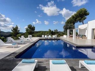 6 bedroom Villa in Sant Rafel, Balearic Islands, Spain : ref 5651897