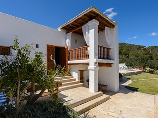 5 bedroom Villa in Es Cubells, Balearic Islands, Spain : ref 5651895