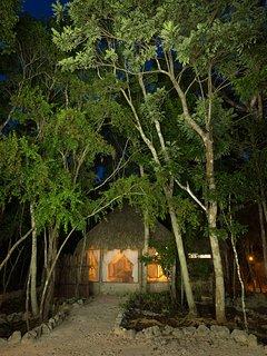 palapa at night