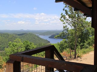 Amazing Fire Tower with 360 Degree Panoramic Views Of Kiamichi Mountains & Lake
