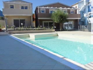 Beautiful new 2 bedroom residential villa with swimmimg pool and near sea
