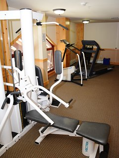 Exercise room available on 2nd floor.