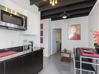 Baden (#E) · 2 Bed/1Bath/Kitchenette Unit in South SF (Purple)