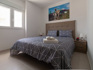401 Bright and modern apartment in Arrecife, Lanzarote, 6 people