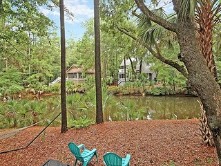 Spacious Home with Deck & Ping-Pong | Overlooking Lagoon on Seabrook Island