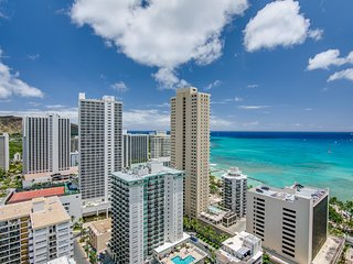 Pacific Monarch #2708- Studio/1BA - Stunning Ocean & Mountain Views