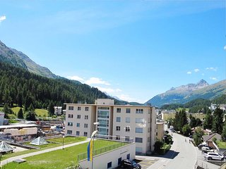 St Moritz an amazing location and Chesa Anemona an wonderful apartment