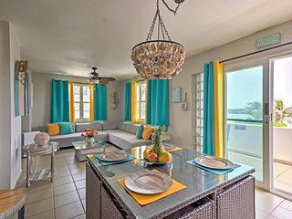 Exotic Beachfront 2-Bed w/ Terrace, Pvt BBQ & Pool