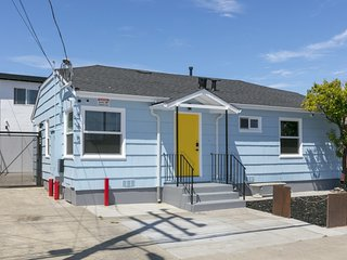Huntington A . Huntington A (yellow) new1bed1bath near SFO/train