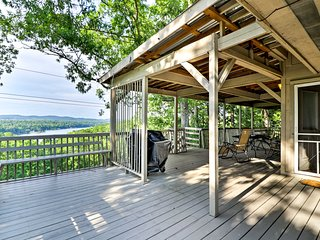 NEW! Hot Springs Home w/Golf Course & Lake Views!