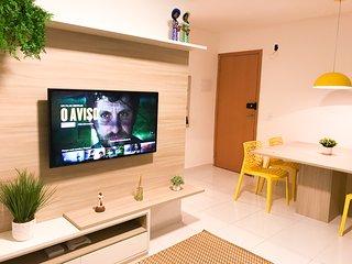 Lindo apartamento para 10 pessoas com 03 quartos