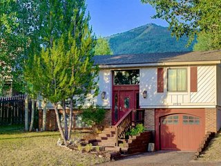 Dog Friendly Home w/Huge Yard, Hot Tub, On Bus Route, Great Mtn Views, Steps to