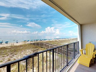 NEW LISTING! Waterfront condo w/ beach views, shared pools, tennis, & free WiFi
