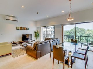 Stylish, modern condo w/ a shared pool - just moments from the beach