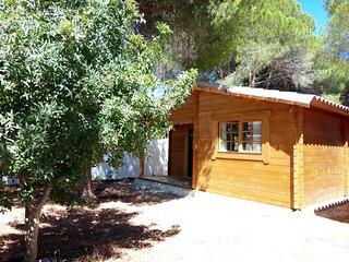 Casa de madera en La Barrosa