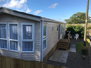 The Static Caravan At Breaks Fold Farm With Hot Tub