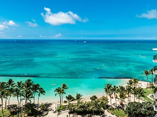 The Residences at Waikiki Beach Tower - 2-Bedroom Oceanfront Deluxe
